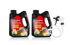 Rootblast Total Weedkiller 2 x 3L with long hose trigger spray RTU Glyphosate