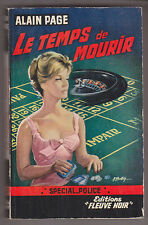 C1 Alain PAGE Le Temps de Mourir FN Special Police 357 EO 1963 ROMY SCHNEIDER