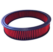 """14"""" x 3"""" Air Cleaner Element Replacement Washable Air Filter Ford Chevy Mopar"""