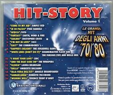 HIT STORY GRANDI DEGLI ANNI 70 80  CD SIMPLY RED PINO DANIELE TOTO COMMODORES