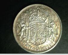 1949 Canada, 50 Cents, High Grade Silver, .3000 oz (Can-683)