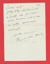CC98#-L.A.S-REYNALDO HAHN-[REVUE L'ILLUSTRATION-RENE BASCHET]-1924