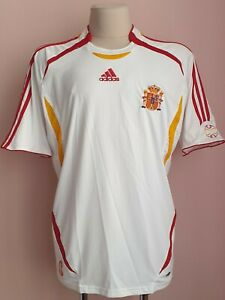 Spain 2006 - 2007 Away football Adidas shirt size XL