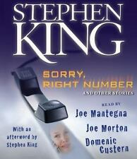 Sorry, Right Number: and Other Stories (Audio Book on CDs) by Stephen King