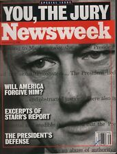 Newsweek September 21 1998 Bill Clinton  092118AME2