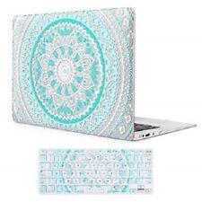 Mandala Clear Hardcase for MacBook Air 13 Inch Case w/ Keyboard Protector