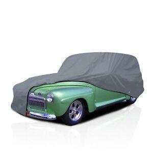 5 Layer Waterproof Semi Custom Full Car Cover for 1928-1947 Ford Sedan Delivery
