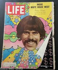 September 5, 1969 LIFE Magazine advertising 60s adds ads FREE SHIPPING Sept 9 4