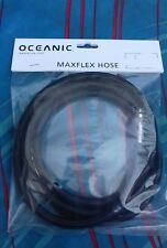 New Oceanic Maxflex  182 cm standard  Regulator  Hose  scuba diving black b