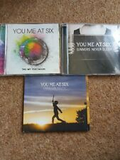 You Me at Six CD bundle Take Off your Colours, Sinners Never Sleep, Cavalier You