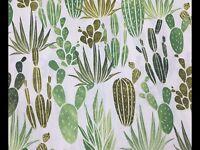 RPFHM50D Succulent Cactus Cacti Desert Garden Desert Dawn Cotton Quilt Fabric