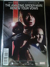 AMAZING SPIDER-MAN: RENEW YOUR VOWS #1 AWESOME 1:15 AGENTS OF SHIELD COVER NM/M