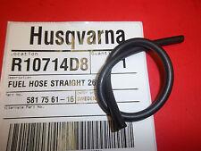 NEW HUSQVARNA straight 265 fuel line fits 455 460 461 581756116 OEM