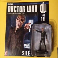 Doctor Who . The Silence Figurine With Issue 10 Magazine .