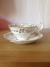 SAMUEL ALCOCK, Antique Cabinet Cup & Saucer, Pattern No. 7677. c1890 VGC