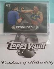 #1/1 Raquel Pennington Rare Rookie Blankback Proof 2014 Topps UFC Knockout WMMA