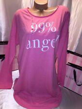 Victorias Secret Cotton Sleep Shirt 99% Angel Large