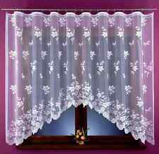 Beautiful New Jacquard Net Curtain floral style READY MADE 320x160cm Window