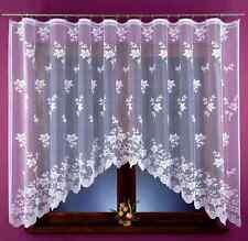BEAU NEUF jacquard Rideau filet floral style prêt à l'em Ploi 320x160cm fenêtre
