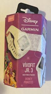 Garmin vívofit jr. 3 Activity Tracker - Disney Princess NEW