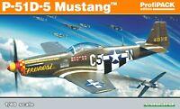 Eduard Profipack 1:48 P-51D-5 Mustang Aircraft Model Kit