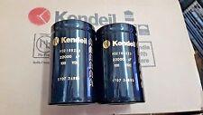 2x NEW KENDEIL 22000UF 100V K02 105C HI END CAPS -KRELL KSA50 NAIM AMP HICAP!