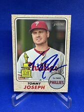 Tommy Joseph IP Auto Autograph 2017 Topps Heritage #190 2nd Year All-Star Rookie