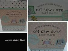 Baby Blanket DIY Learn Oh Sew Cute Crafts Book & Sewing NIB 7 Projects