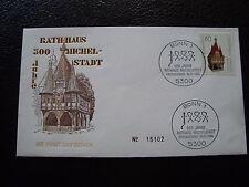 ALLEMAGNE (rfa) - enveloppe 1er jour 16/2/1984 (B8) germany