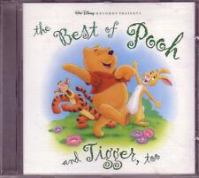 Disney Pooh Tigger Best CD Classic Soundtrack Rare OOP