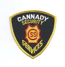 **CANNADY NEW YORK SECURITY SERVICES PATCH**