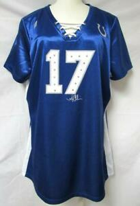 Indianapolis Colts Womens Austin Collie 2XL Lace Neck Jersey Shirt A1 1163