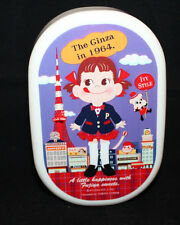 Sanrio Fujiya Peco Chan Milky Plastic Japanese Lunch Box Tokyo Tower Red 300ml