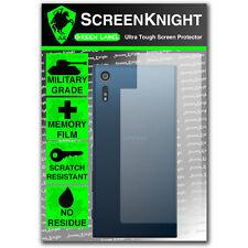 ScreenKnight Sony Xperia XZ BACK SCREEN PROTECTOR - military shield