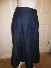 Per Una Cotton Blend A-line Regular Size Skirts for Women