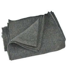 "Wool Utility Emergency Blanket Grey 40""X80"" Camping NEW Disposable"