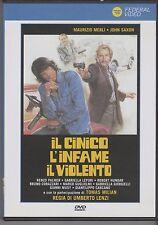 IL CINICO, L'INFAME, IL VIOLENTO di UMBERTO LENZI con TOMAS MILIAN - DVD