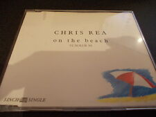 CHRIS REA ON THE BEACH SUMMER 88 4 TRACK CD SINGLE 3 INCH RARE FREE POSTAGE