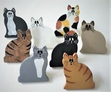 KITTY CALICO CAT KITTY PUSH PINS OFFICE TACKS BULLETIN MEMO MEMORY CORK BOARD