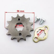 428 13 Tooth 17mm Front Engine Sprocket For Taotao ATV Pit Bike 50 90 110 125cc