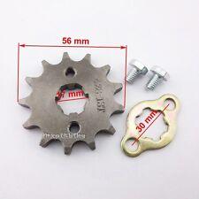 428 13 Tooth 17mm Front Engine Sprocket For Taotao ATV Pit Bike 50 90 110 125cc