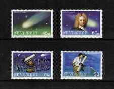 St Vincent 1986 Halley's Comet complete set of 4 values (SG 973-976) MNH