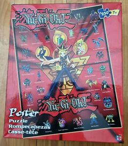 COMPLETE 2002 Mattel Yu-Gi-Oh! Poster Puzzle 250 Pieces