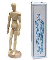 "5.5"" 8"" 12"" Wood Manikin Mannequin Sketching Figure Artist Drawing Art Model"