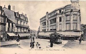 CPA 18 BOURGES LA PLACE PLANCHAT