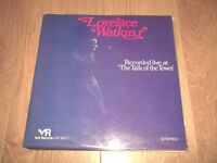 "LOVELACE WATKINS "" RECORDED LIVE AT THE TALK OF THE TOWN "" 2 X VINYL LP VG/VG"