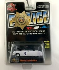 Racing Champions 1950 50 Ford Coupe Illinois State Police USA Die Cast 1/64
