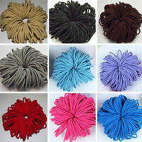 100X Elastic Rope Women Fashion Hair Ties Ponytail Holder Head Band Hairbands
