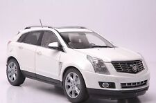 Cadillac SRX 2014 SUV model in scale 1:18 white