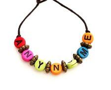 Handmade Anyname Personalised Friendship Bracelets Customise Bracelets